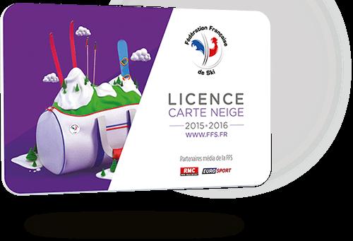 Licence carte neige