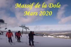 Ski à la Dôle 1er mars 2020 vidéo 2